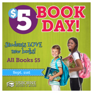 Usborne Book Sale - Sept. 21st